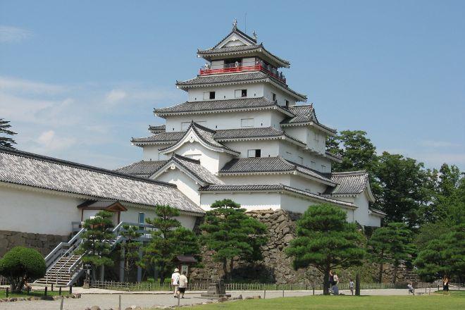 Tsuruga jo Castle, Aizuwakamatsu, Japan