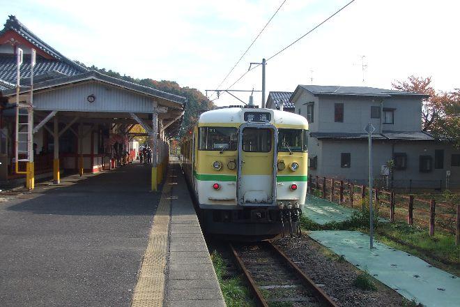 Yahiko Station, Yahiko-mura, Japan