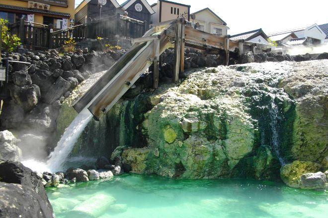 Yubatake, Kusatsu-machi, Japan