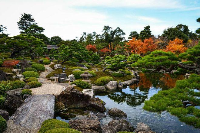 Yuushien Garden, Matsue, Japan