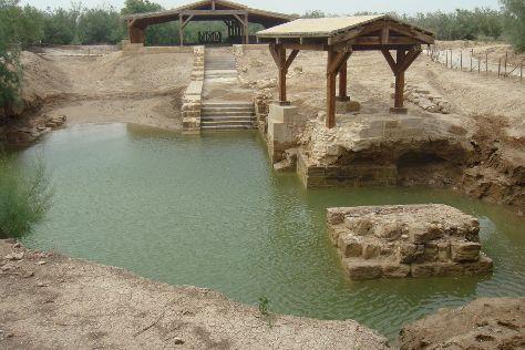 The Baptism Site Of Jesus Christ, Dead Sea Region, Jordan