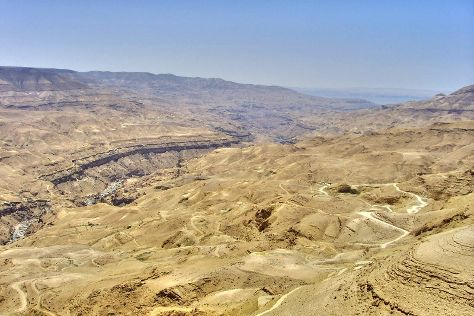 Wadi al-Mujib, Amman Governorate, Jordan