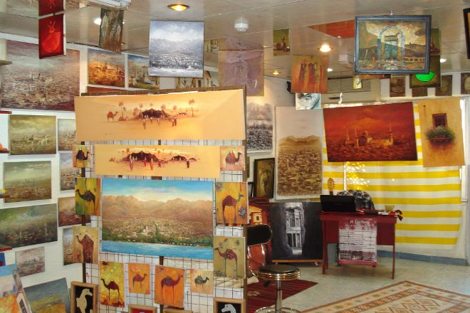 Arts of Sham Countries Art Gallery, Aqaba, Jordan