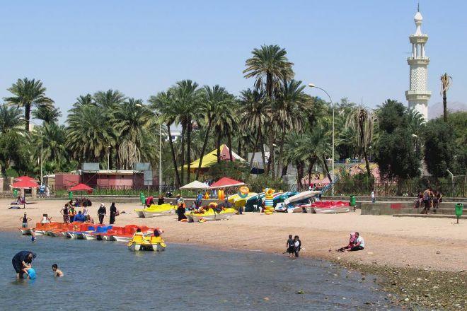 City Beach, Aqaba, Jordan