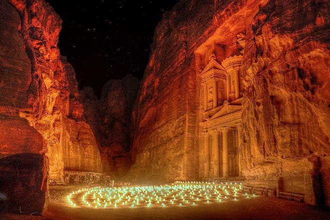 Petra By Night, Petra - Wadi Musa, Jordan