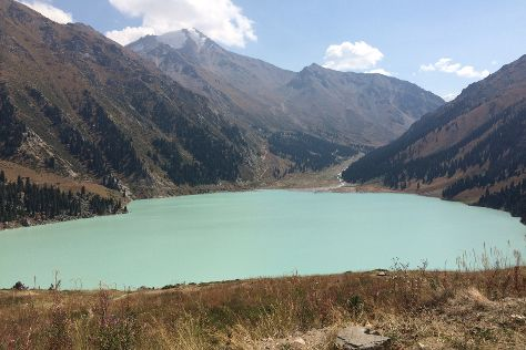Big Almaty Lake, Almaty, Kazakhstan