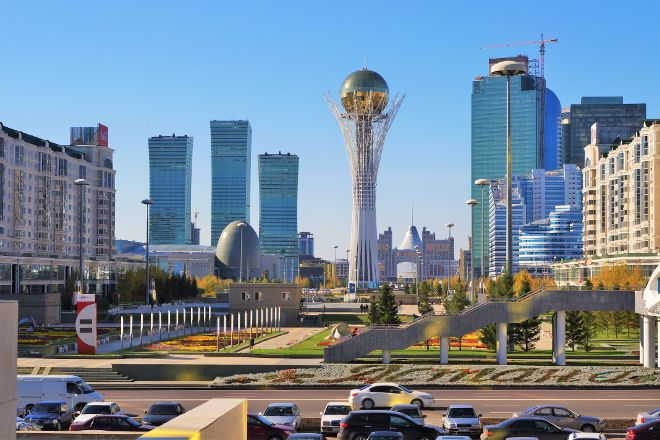 Astana Allee, Astana, Kazakhstan