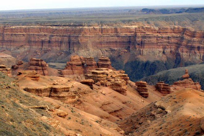 Charyn Canyon, Almaty Region, Kazakhstan