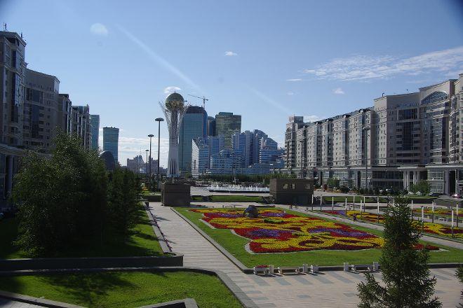 City Park, Nur-Sultan, Kazakhstan