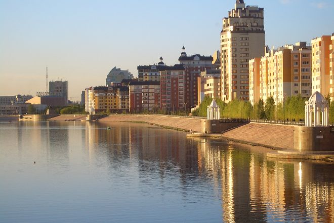 Quay Astana, Nur-Sultan, Kazakhstan