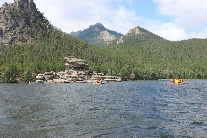 Rock Zhumbaktas, Borovoe, Kazakhstan