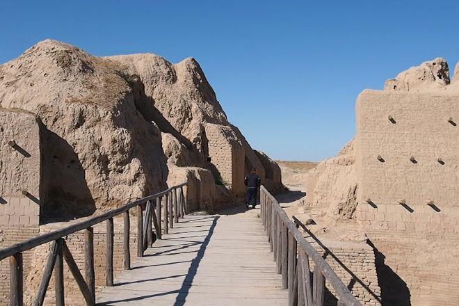 The Intimate Ruins of Sauran, Turkestan, Kazakhstan