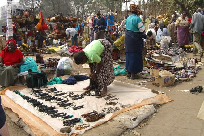 The Maasai Market, Nairobi, Kenya