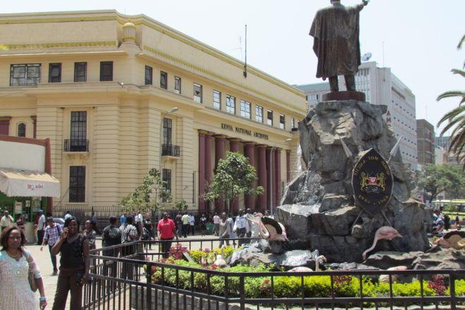 Tom Mboya Statue, Nairobi, Kenya