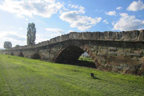 Stone Bridge, Mitrovica, Kosovo