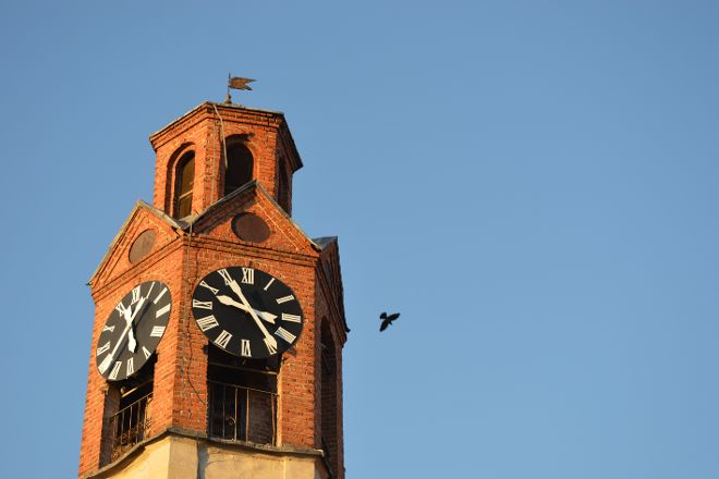 Clock-tower, Pristina, Kosovo