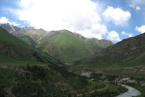 National Park Salkyn-Tor, Naryn, Kyrgyzstan
