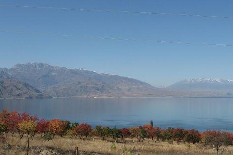 Toktogul Lake, Toktogul, Kyrgyzstan