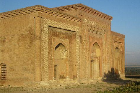 Uzgen Archaeological-Architectural Museum Complex, Uzgen, Kyrgyzstan