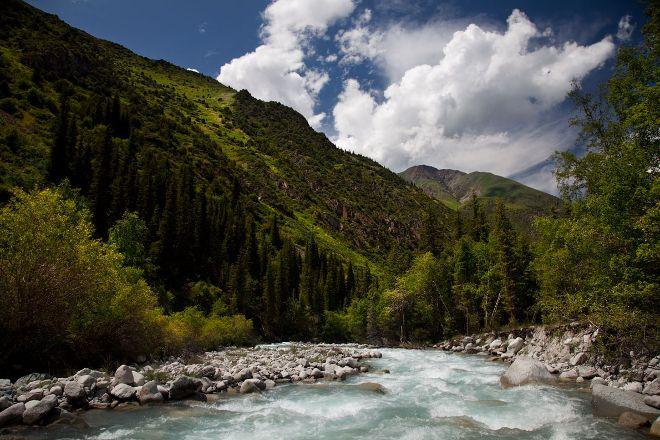 Ala-Archa Gorge, Bishkek, Kyrgyzstan