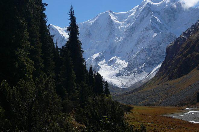 Boris Yeltsin Peak, Karakol, Kyrgyzstan