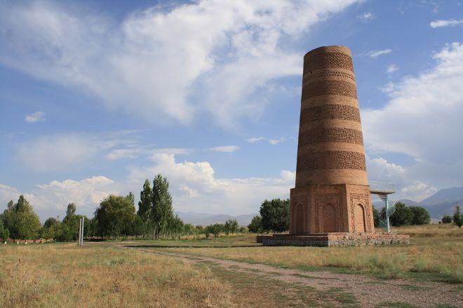 Burana Tower, Tokmok, Kyrgyzstan
