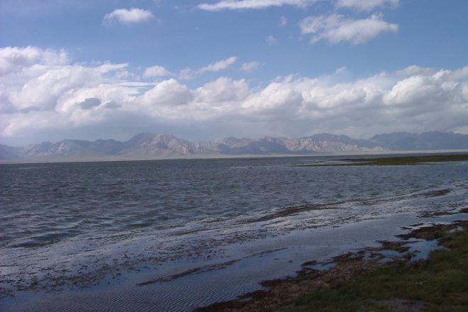 Chatyr-Kul Lake, At-Bashi, Kyrgyzstan