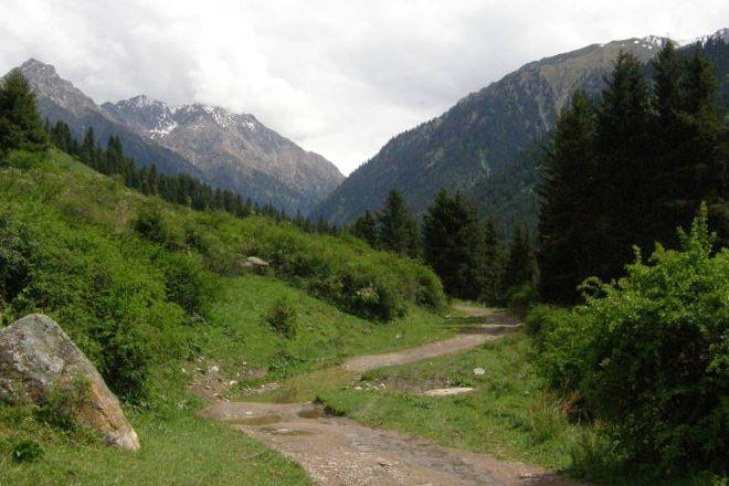 Karakol Gorge, Karakol, Kyrgyzstan