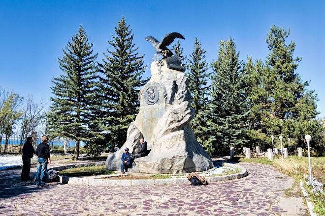 Monument N.M. Przhevalsky, Karakol, Kyrgyzstan