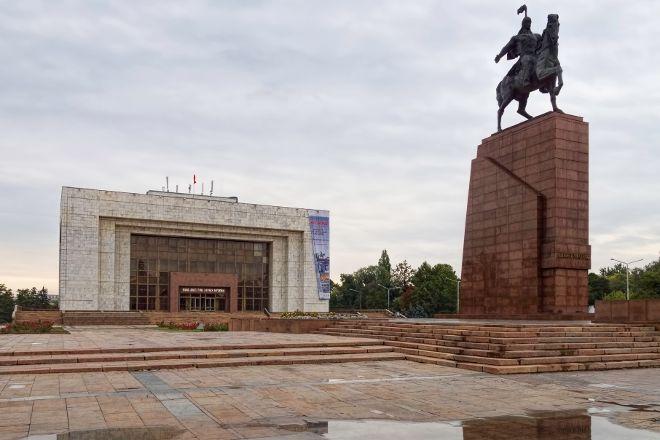 Monument to Manas the Great, Bishkek, Kyrgyzstan
