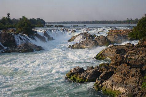 Khon Phapheng Falls, Don Khong, Laos
