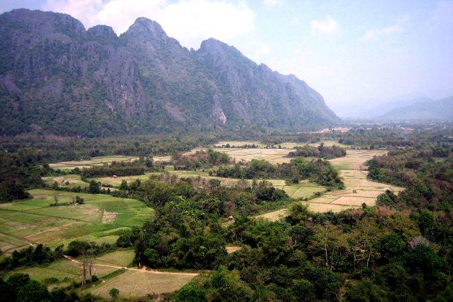 Lusi and Pha Poak Caves, Vang Vieng, Laos