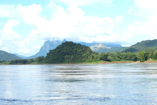 Mekong River, Tha Heua, Laos