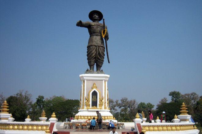 Mekong Riverside Park, Vientiane, Laos