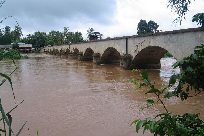 Old French Railway Bridge, Don Det, Laos