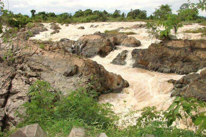 Tad Somphamit Waterfalls, Don Khone, Laos