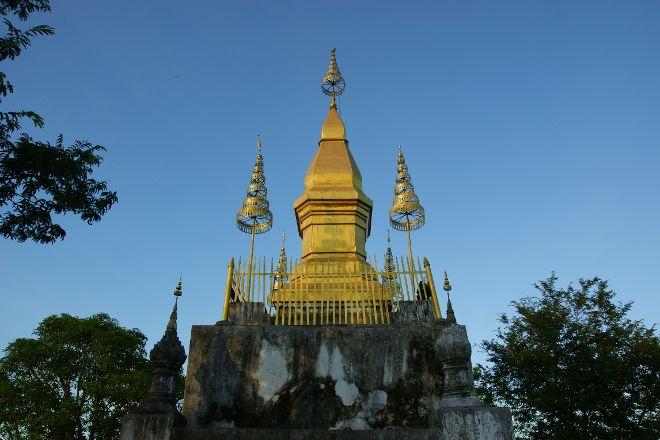 That Chomsi Stupa, Luang Prabang, Laos