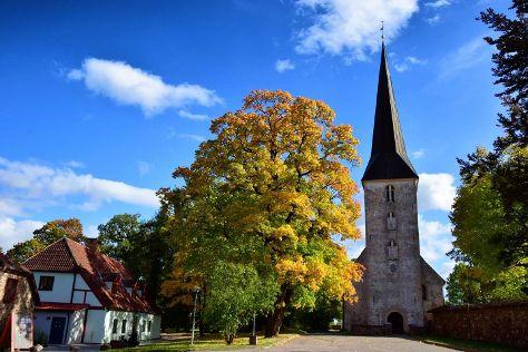 Jaunpils baznica, Jaunpils, Latvia