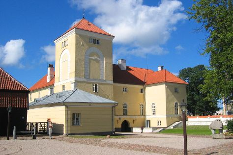 The Castle of the Livonian order, Ventspils, Latvia