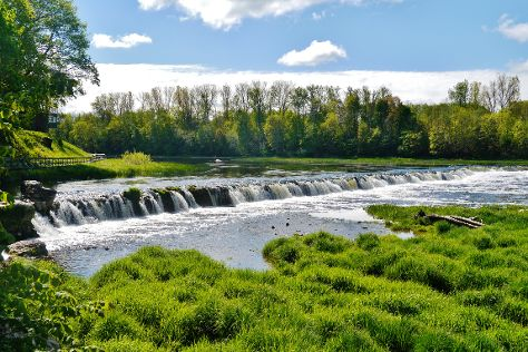 Venta Rapid Waterfall, Kuldiga, Latvia