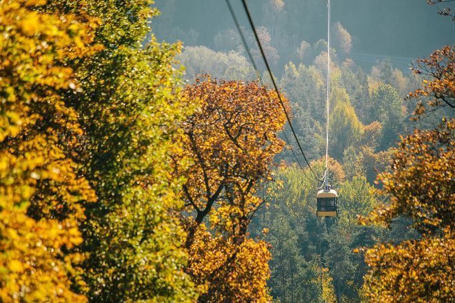 Cable Car Across Gauja, Sigulda, Latvia
