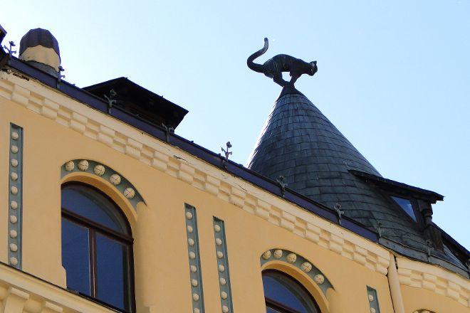 Cat House, Riga, Latvia