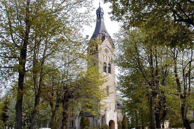 Dubulti Lutheran church, Jurmala, Latvia
