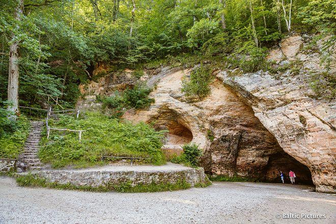Gutman's Cave, Sigulda, Latvia