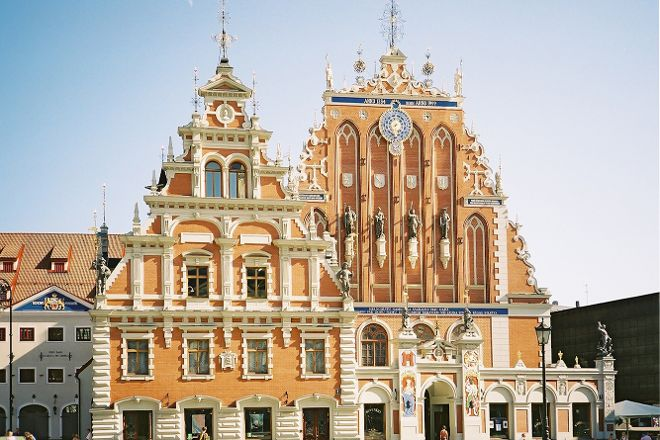 House of the Black Heads, Riga, Latvia