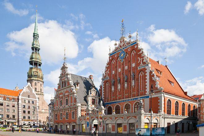 Riga Town Hall Square, Riga, Latvia