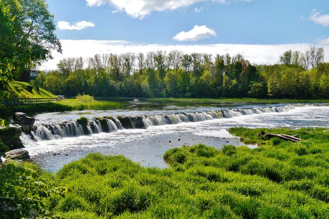 Venta Rapid Waterfall, Kuldiga, Latvia