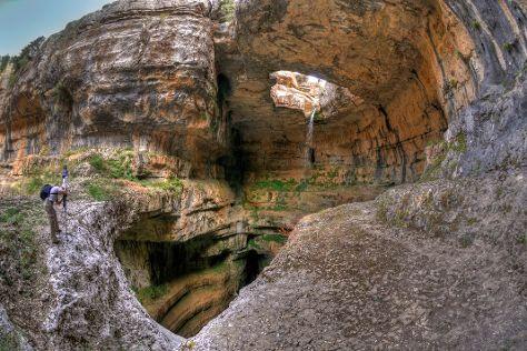 Baatara Pothole, Tannourine, Lebanon