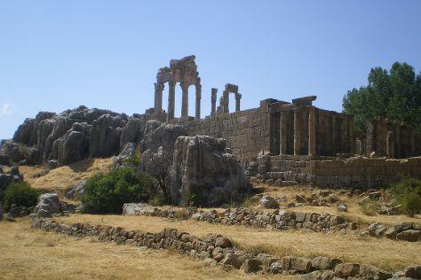 Faqra Temple, Kfardebian, Lebanon