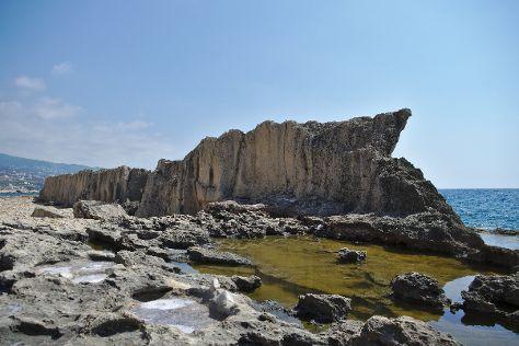 Phoenician Wall, Batroun, Lebanon
